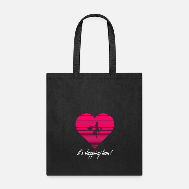 Shopping Frenzy Bags & backpacks - Shopping - Tote Bag black