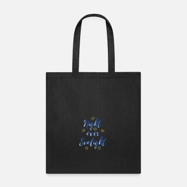 Sunlight Night over Sunlight - Tote Bag
