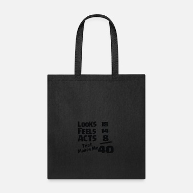 Birthday 40TH BIRTHDAY - Tote Bag