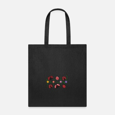 Ladybird Ladybirds and flowers - Tote Bag