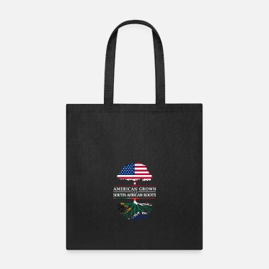 South American Grown with South African Roots South Africa Design - Tote Bag