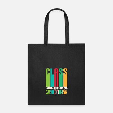 Grad School High School Class Of Graduation Retro Grad Gift - Tote Bag