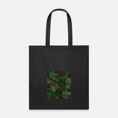 Rectangle Camo Rectangle - Tote Bag