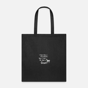 Span Goat Short Attention Span - Tote Bag
