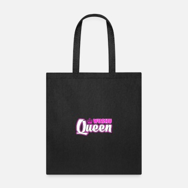 Master Wushu Queen Cute Martial Arts Training - Tote Bag