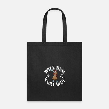Funny Halloween Zombie Girl Will Dab For Candy. - Tote Bag