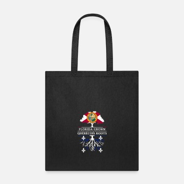 Democrat Florida Grown with Quebecois Roots Design - Tote Bag