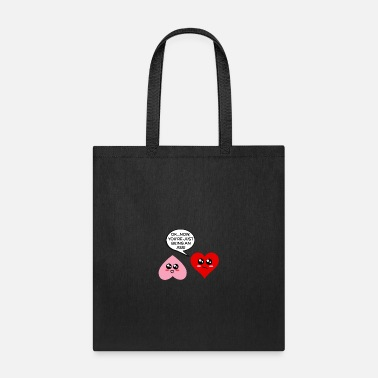 Pun Ok Now You're Just Being An Ass Funny Heart Pun - Tote Bag