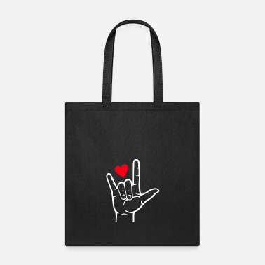 I Love I LOVE YOU - Tote Bag