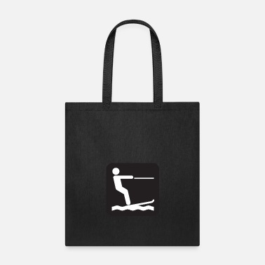 Water Skiing water ski - Tote Bag