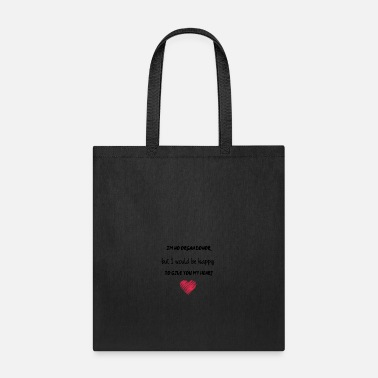 Organ Donor I am no organ donor - Tote Bag