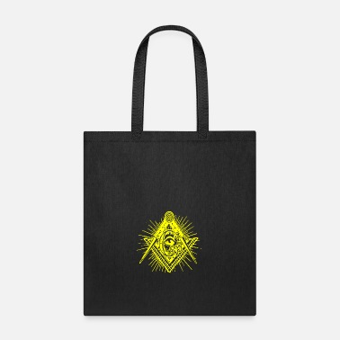 Geek &amp Square amp Compass Symbol - Tote Bag