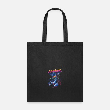 Stingers Stinger, Neon infused scorpion - Tote Bag