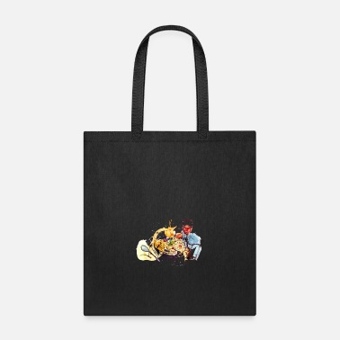Popartcontest Food pasta sketch glass of wine vector image cool - Tote Bag