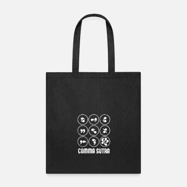 Kama Sutra Comma Sutra Commas Teacher - Tote Bag