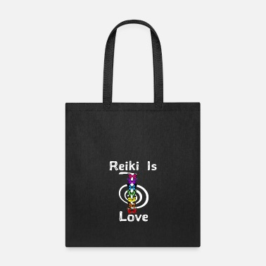 Reiki Reiki is Love - Tote Bag