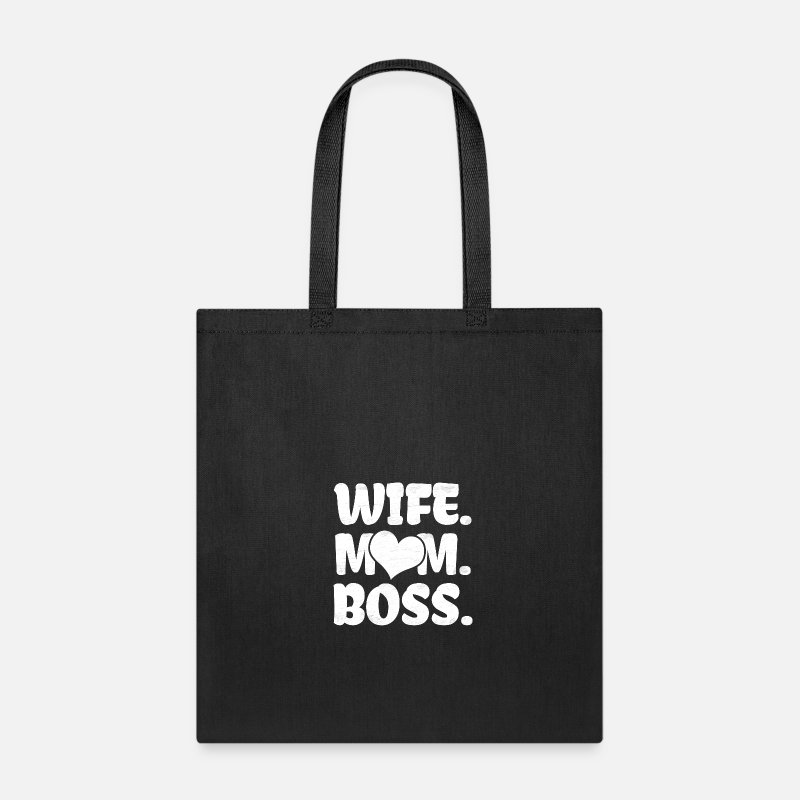 Wife Mom Boss Gift Tote Bag