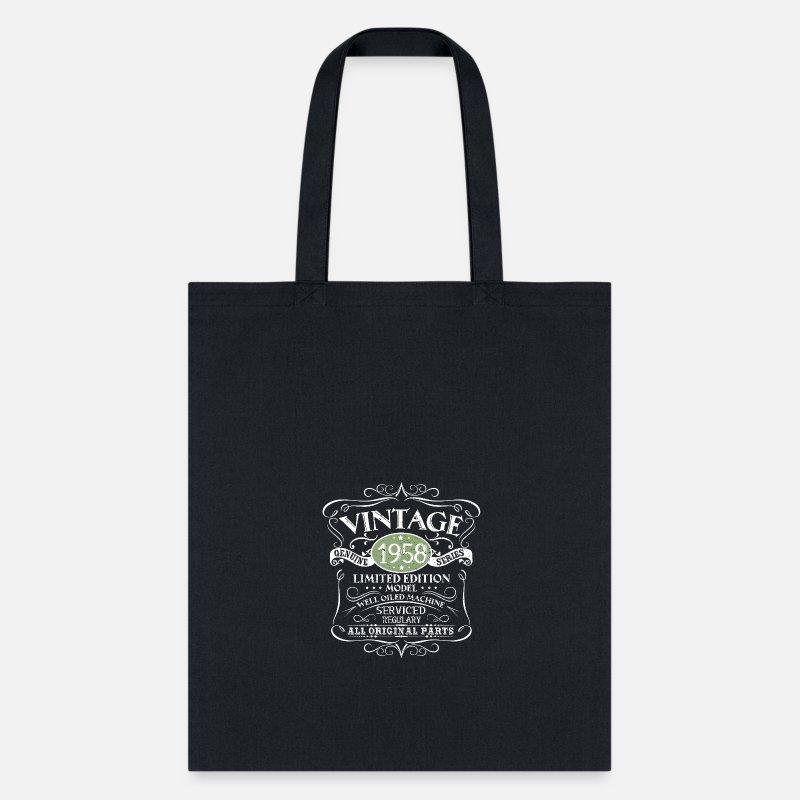 Vintage 60th Birthday Funny Tshirt Tote Bag