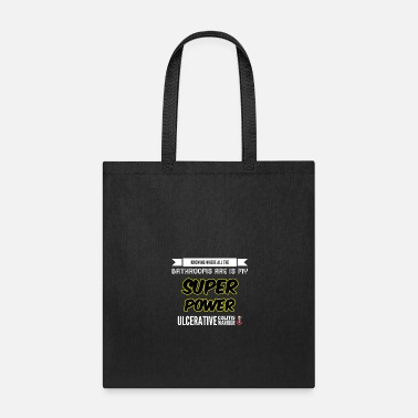 Bathroom Ulcerative Colitis I Run to the Bathroom - Tote Bag