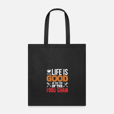 Food Chain AT THE TOP OF THE FOOD CHAIN - Tote Bag