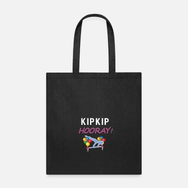 Hurray Cute Kip Kip Hurray Gymnastics celebration gift - Tote Bag