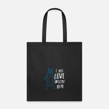 Bear Grizzly Brown Bear Gift Animal Love - Tote Bag
