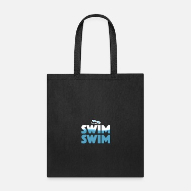 Swim Swim Swim - Swimming - Total Basics - Tote Bag