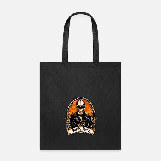 Heavy Bags & Backpacks - HEAVY METAL - Tote Bag black