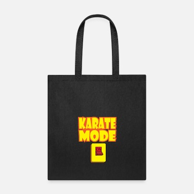 Modernist A Karate Mode Shirt Perfect Gift Idea - Tote Bag