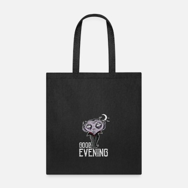 Good Evening Halloween - Good Evening Dracula - Tote Bag