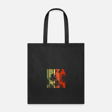 Retro Retro Ibiza Spain Beach Vacation Souvenir - Tote Bag