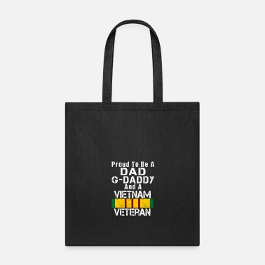 Daddy Vietnam Veteran Dad G Daddy - Tote Bag