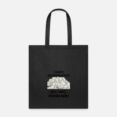 Moneygrubbing counting money gift tees - Tote Bag
