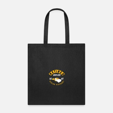Senior Retired Senior - Tote Bag