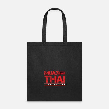 Boxing Muay Thai Kick Boxing - Tote Bag