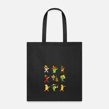 Mariachi Dabbing Dab Dancing Cinco De Mayo Chili Pepper - Tote Bag