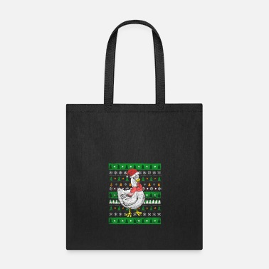 Ugly Chicken Ugly Christmas - Tote Bag