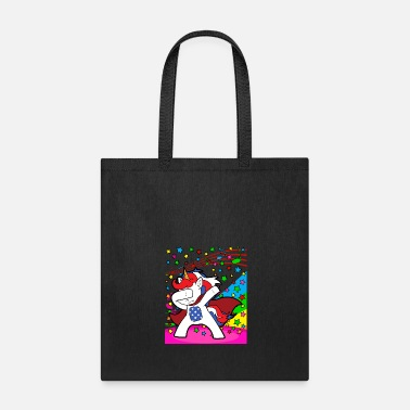 Discothek Dabbing Dab Unicorn Disco Party Music Discothek - Tote Bag