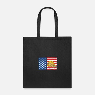 Labor Labor Day - Labor Flag - Tote Bag