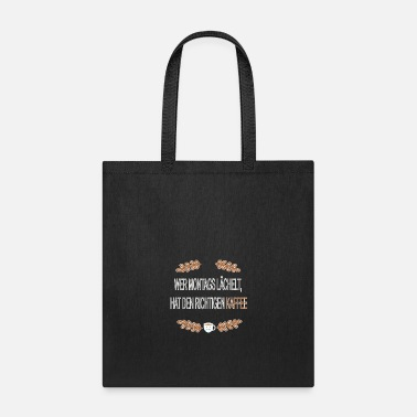 Montage Wer Montags - Tote Bag