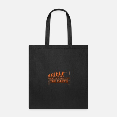 Evolutionary History darts evolutionary history darts player - Tote Bag