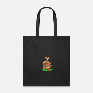 Chicken Coop chicken coop hen farm poultry gift idea - Tote Bag