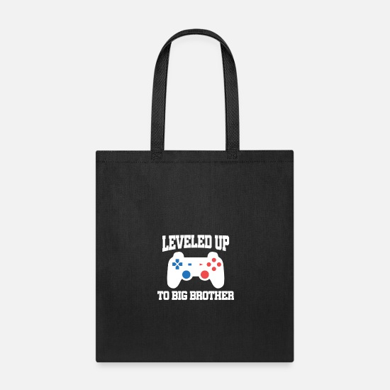 Video Bags & Backpacks - Video games brother Grosser - Tote Bag black