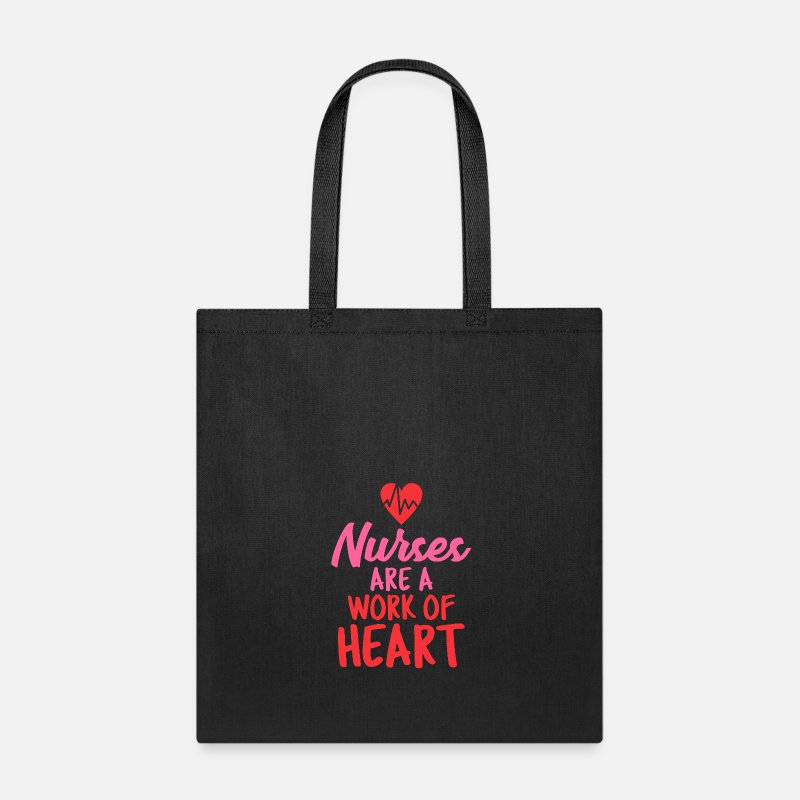 Tote Bagnurses Rn Are A Work Of Heart Arel