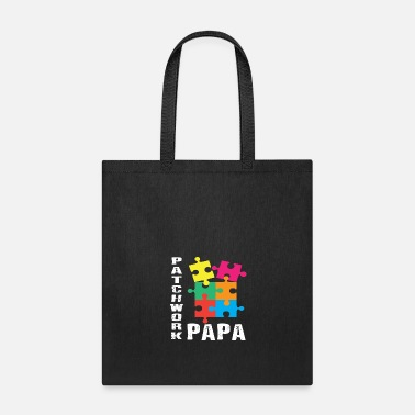 Family Patchwork Papa - Tote Bag