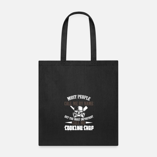 Chef Bags & Backpacks - Chef Chef Chef Chef Chef Gift - Tote Bag black