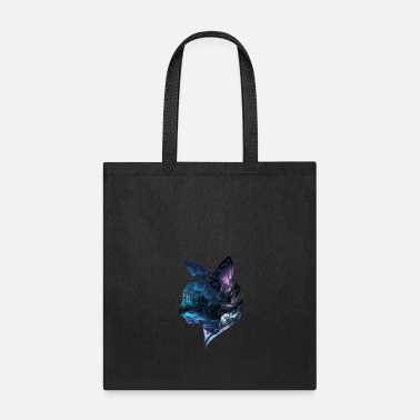 Cat Tribal Cat - Tote Bag