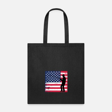 Fishing Rod Fishing Flag and fishing rod - Tote Bag