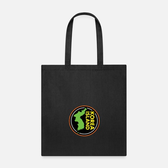 Birthday Bags & Backpacks - North Korea South Korea Korea Gift Asia - Tote Bag black