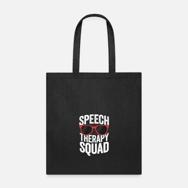 Communism Speech Therapy Squad Funny SLP TShirt For Women - Tote Bag